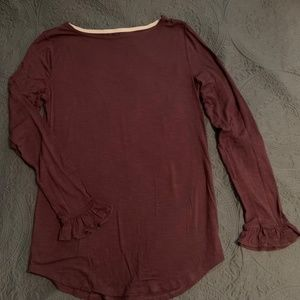 Deep purple Long Sleeve